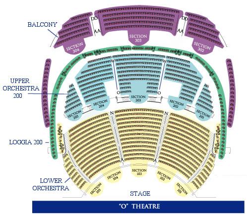Showtimevegas com las vegas seating charts