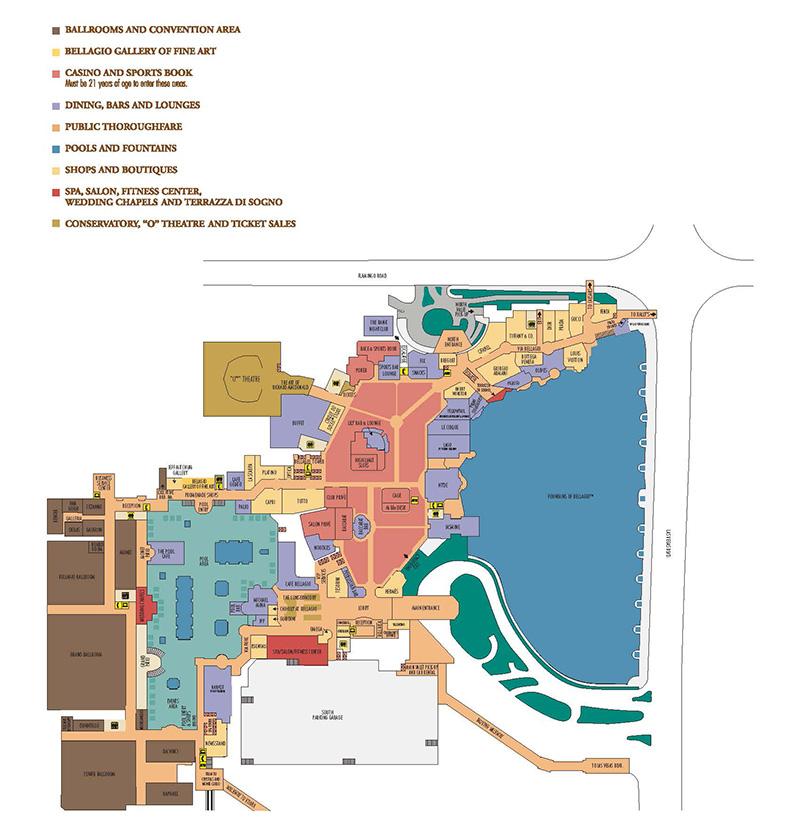 ShowtimeVegas.com - Las Vegas Facility Site Maps