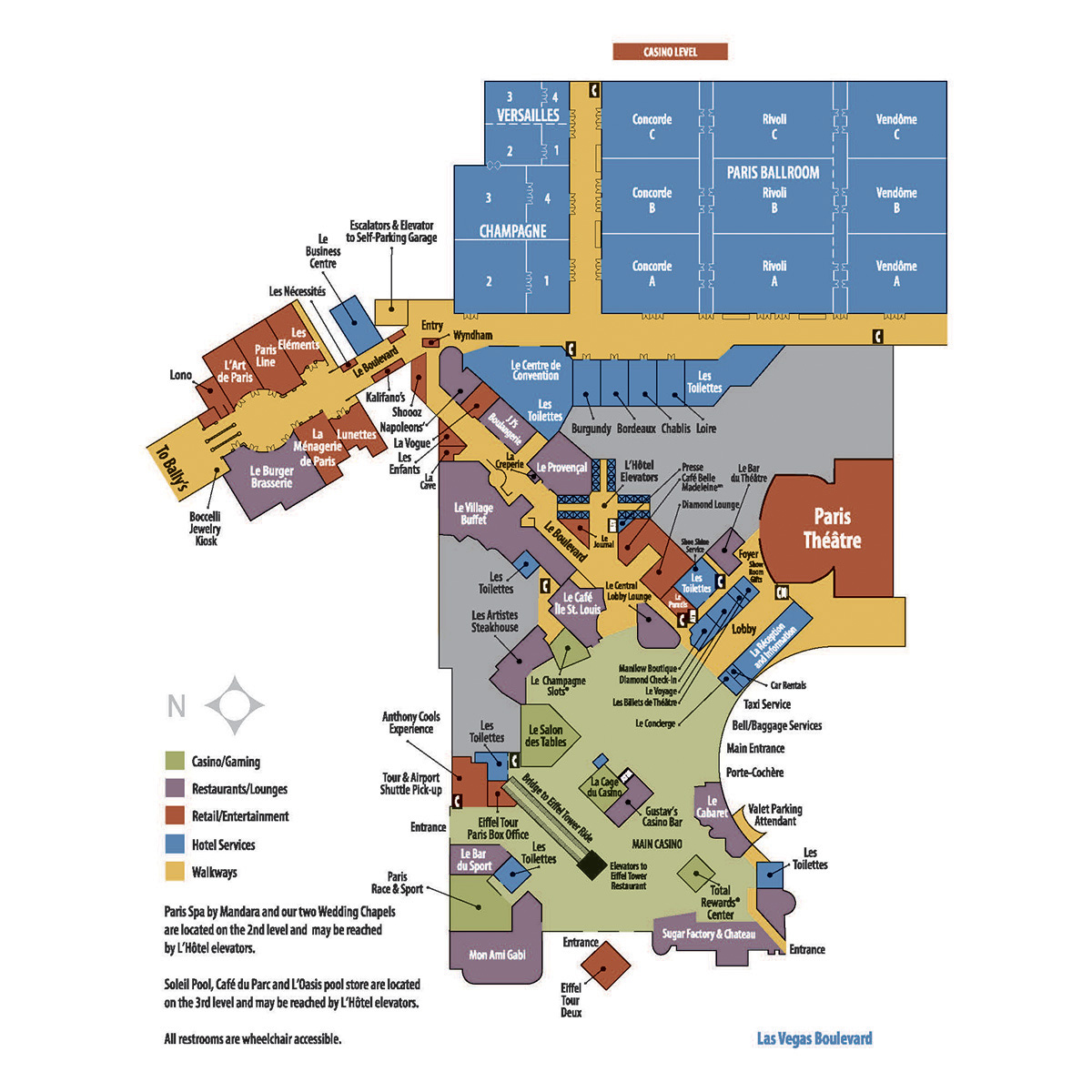 ShowtimeVegas.  Las Vegas Facility Site Maps