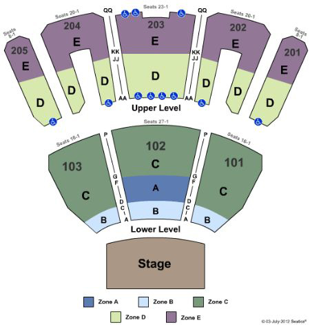 criss angel las vegas seating chart: Luxor theatre seating map brokeasshome com